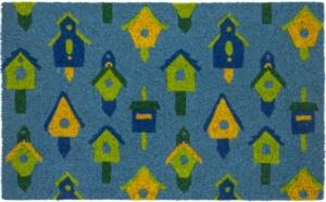 Birdhouses Coir Doormat