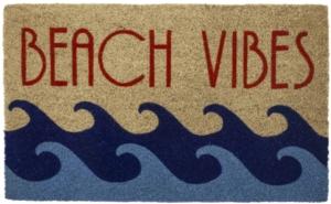 Beach Vibes Coir Doormat