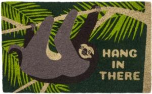 Hang In There Coir Doormat