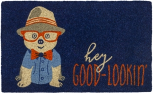 Good-Lookin' Coir Doormat