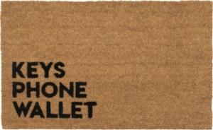 Reminder Coir Doormat