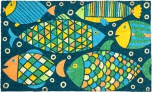 Fancy Fish Coir Doormat