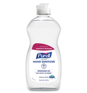 PURELL® Advanced Hand Sanitizer Gel 12.6 oz Bottle