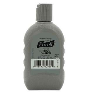 PURELL® Biobased, Rugged Portable Bottle Advanced Hand Sanitizer Gel 3 oz Bottle