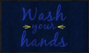 Wash Your Hands Carpet Floor Mats