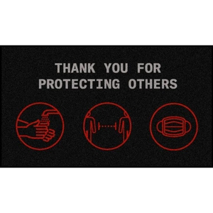 Protecting Others Floor Mats