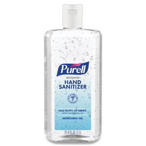 PURELL® Advanced Hand Sanitizer Gel 34 oz (1L) Bottle