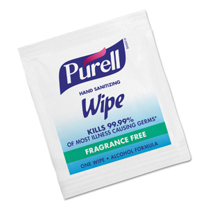 PURELL® Individually Wrapped Sanitizing Wipes