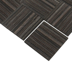Recessed Recycled Rubber Tire Tiles Are