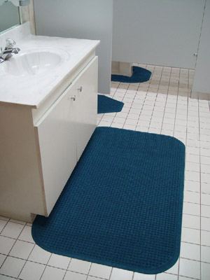 Bathroom Sink Mats