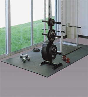 Rubber Gym Flooring Is Rubber Flooring By American Floor Mats