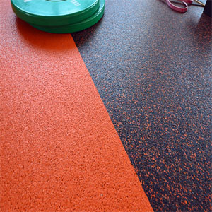 5mm Thick Rubber Roll Matting: Solid Colors