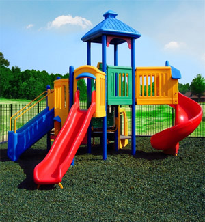 Rubber Playground Mulch