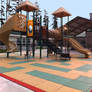 Floor Tiles And Interlocking Gym