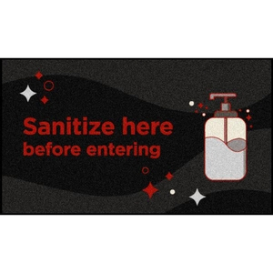 Sanitizing Station Floor Mats