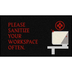 Sanitize Your Workspace Floor Mats