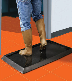 Sanitizing Footbath Floor Mat