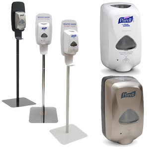 PURELL® Touch-Free Floor Stands
