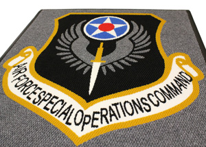 Super Berber Military Logo Mats