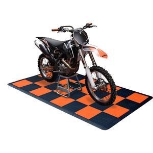 TracStep Motorcycle Garage Mat Kits