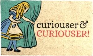 Curiouser and Curiouser Coir Doormat
