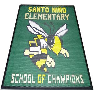 Vinyl-Link School Logo Mats