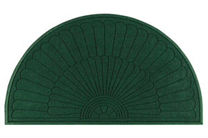Half-Oval WaterGuard Diamond Entrance Mats