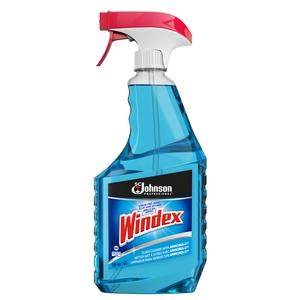 Windex® Glass Cleaner, 32oz Trigger Spray Bottle,12/Case
