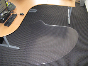 Designer Desk Chair Mats - Workstation Design