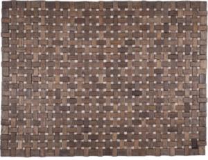 "Douglas Exotic Wood Mat - Black 18"" x 30"""