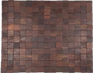 """Mather Exotic Wood Mat - Natural 18"""" x 30"""""""