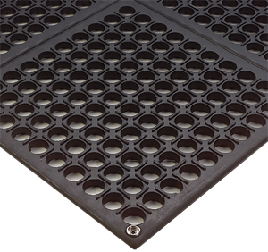 Electrically Conductive Interlocking Drainage Mats