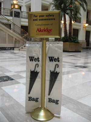 Wet Umbrella Bag Stand Premiere